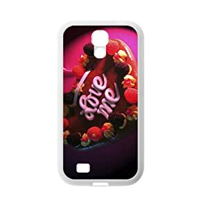 Love For Valentines TPU Case For Samsung Galaxy S4 I9500 White AR263952