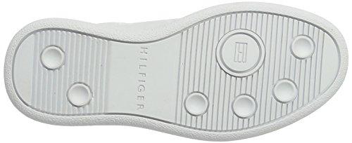 White Garçon Blanc Sneakers Jr Tommy Hilfiger 3a Basses D3285anny xOawqgqRP