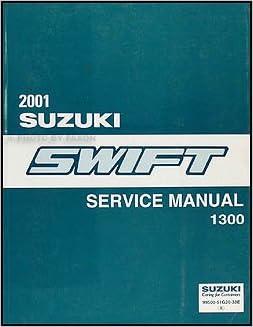 suzuki swift service manual