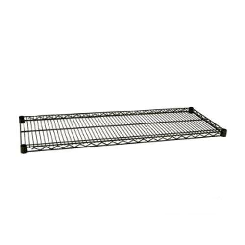 Focus Foodservice FF2448G Green Epoxy Coated Wire Shelf, 24'' X 48'', Zinc underplated Wire