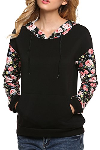 Fanala Pullover Hoodie Floral Sweatshirt product image