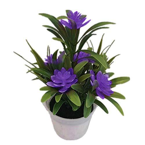 MARJON-FlowersArtificial-Fake-Lotus-Flowers-Potted-Plant-Bonsai-Decor-for-Home-Garden-Wedding-Party
