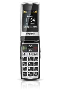 """Emporia Click - Móvil libre (pantalla 2.2"""", cámara 0.3 Mp, 2 MB), Negro"""