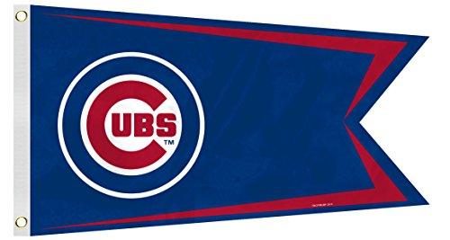Fremont Die MLB Chicago Cubs Boat Flag, Small, Blue