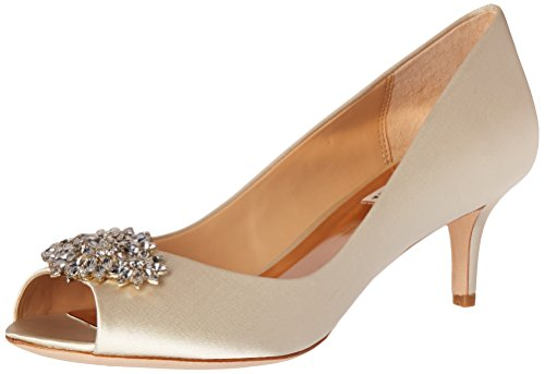 Badgley Mischka Womens Nakita Dress Pump Avorio