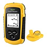LUCKY Portable Wireless Fish Finder for Shore and Ice Fishing