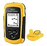 Lucky FFW-1108-1 Fishfinder Wireless Fish Finder Sonar Portable Alarm 40M/131FT Depth