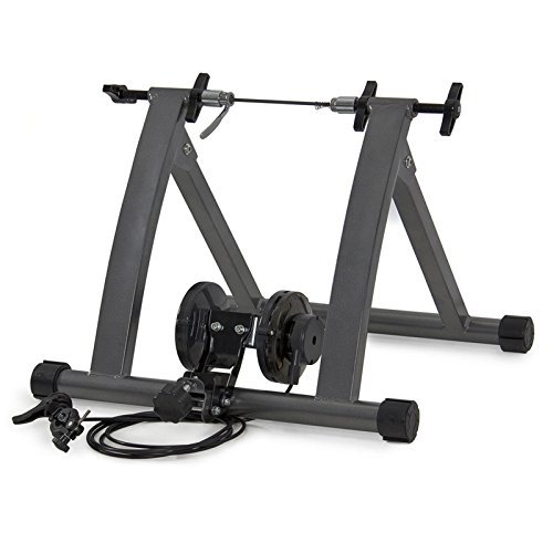 Hot Sale! Indoor Exercise Bike Bicycle Trainer Stand W/ 5 Levels Resistance Stationary by Polarbear's Cycling