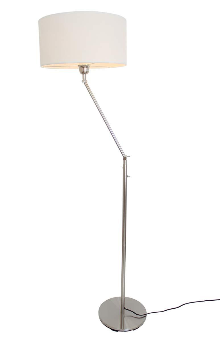 Lámpara de pie con pantalla blanca de diseño Kaja FL - 10409-164 cm