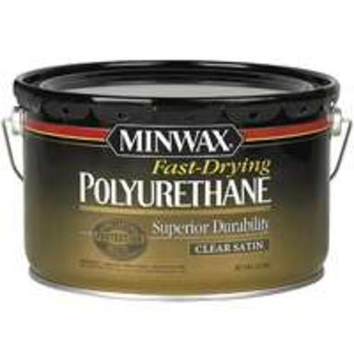 Minwax 71060000 Fast-Drying Polyurethane, 2.5 gallon, Satin by Minwax