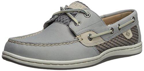 - Sperry Top-Sider Women's Koifish Mesh Boat Shoe, Grey, 9 Medium US