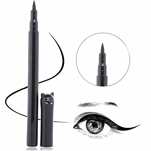 1PC NEW Beauty Cat Style Black Long-lasting Waterproof Liquid Eyeliner Eye Liner Pen Pencil Makeup Cosmetic Tool -