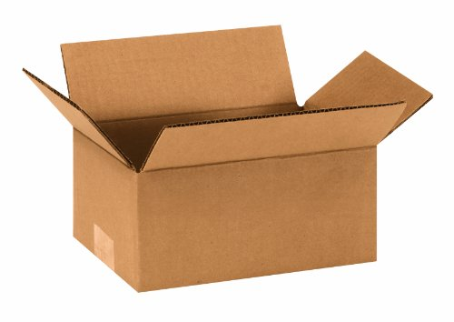 "Aviditi 964 Corrugated Box, 9"" Length x 6"" Width x 4"" Height, Kraft (Bundle of 25) from Aviditi"