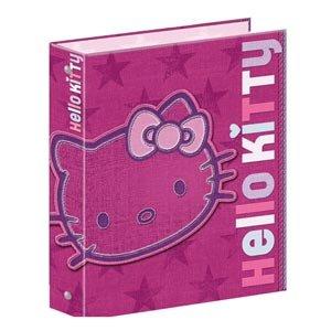Archivador tamaño A4, 4 anillas, diseño de Hello Kitty, 4 anillas: Amazon.es: Oficina y papelería