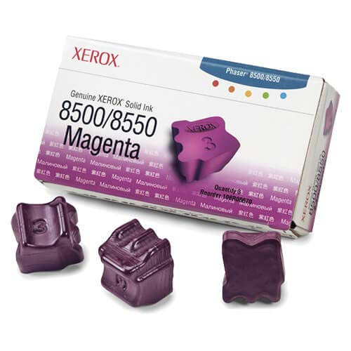 CompAndSave Replacement for Xerox 108R00670 / Phaser 8500 OEM Magenta Ink 3-Pack ()