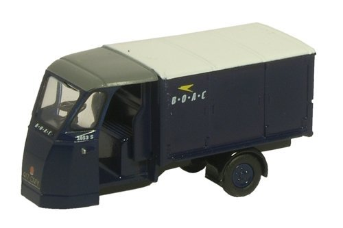oxford wales and edwards standard van in black 1.76 railway scale diecast model by Oxford