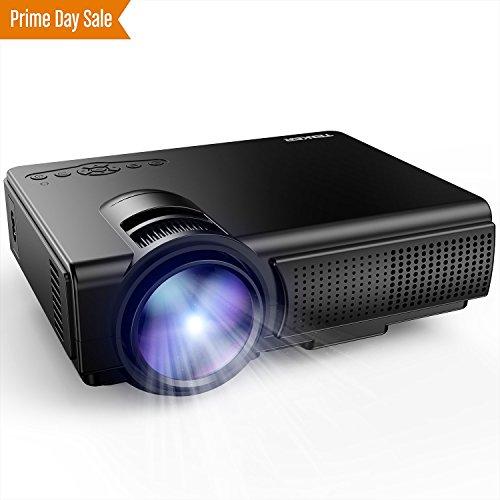 TENKER Q5 LED Mini Movie Projector 1080P HDMI USB Deal (Large Image)