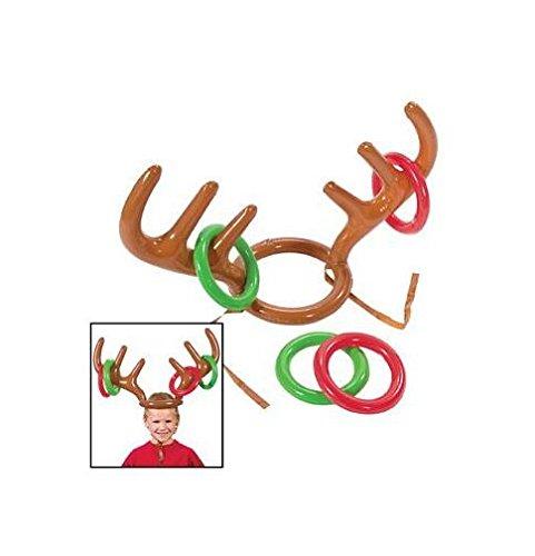 Hemore Accesorio de Navidad [Grupo] Gorro de Reno de Navidad ...