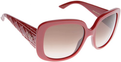 Price comparison product image Dior EIF Red Lady Lady 1 Square Sunglasses