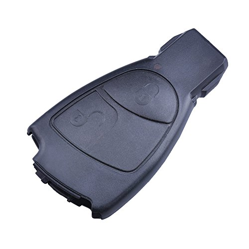 Tofnk 2 button replacement remote key fob case for for Mercedes benz keys replacement cost