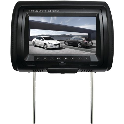 Concept Cld-902 9″ Chameleon Headrest Monitor With Built-in Dvd Player, Touch Sensitive Controls &