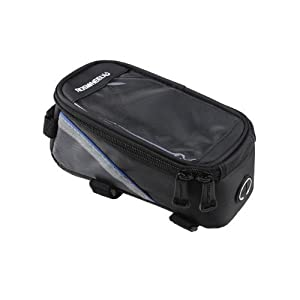 Roswheel Bicycle Frame Pannier and Front Tube Cell Phone Bag