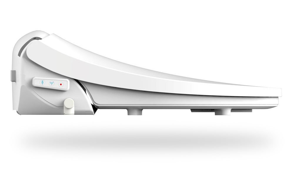 BioBidet Special Edition DIB Elongated White Electric Bidet Toilet Seat Certified Refurbished