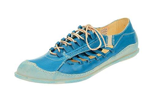 Eject17107 003 Azzurro classica Stringata Donna a7AXa