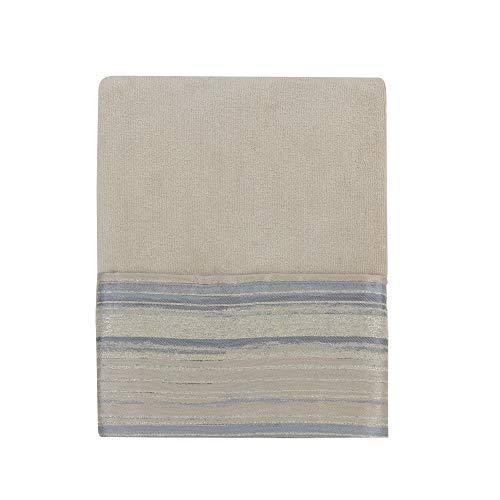 Croscill Darian Bath Towel, 27x52, Taupe (Shower Croscill Curtain Jacquard)