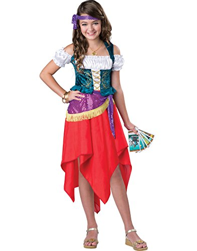 InCharacter Costumes Mystical Gypsy Costume, One Color, Size 12 ()