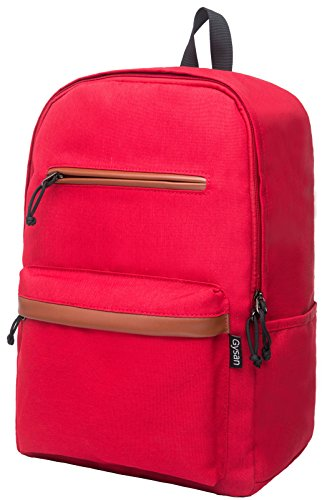 Travel Outdoor Computer Backpack Laptop bag 15.6''(red) - 9