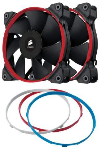 Corsair Air Series SP120 High Performance Edition Twin Pack Fan (Corsair Air Series Af120 Led Quiet Edition)