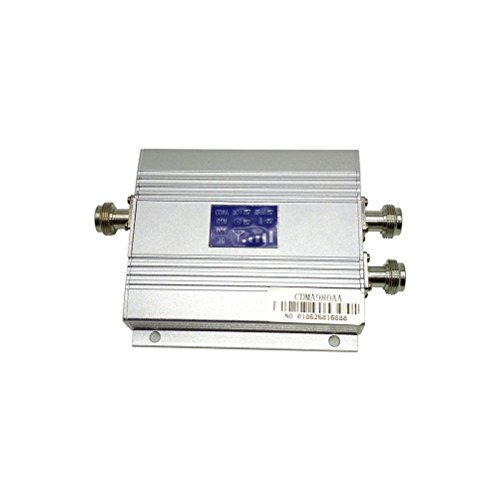 IRCtek CDMA980AA 800MHZ Cell Phone Signal Amplifier Booster Repeater with Indoor Antenna and Outdoor 5 Unit 10m YaGi Antenna