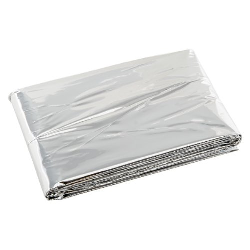Emergency Survival Shelter Tent and Survival Blanket Combo 2 Person Mylar Thermal Shelter | 8' X 5' All Weather Tube Tent Reflective Material Conserves Heat Lightweight Waterproof Survival Gear (Tent Survival Tube)