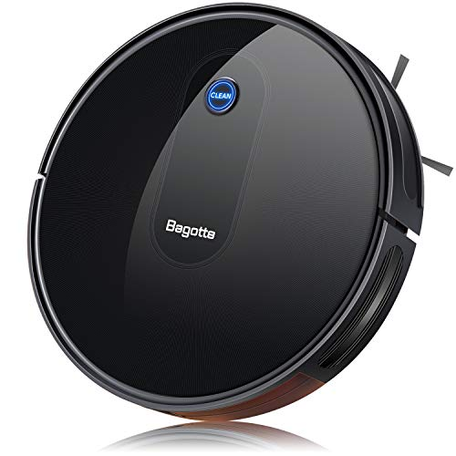 Robot Vacuum Cleaner, Strong 1500PA & 2.73' Slim Automatic Self-Charging Robotic Vacuum Cleaner, Super Quiet, Daily Schedule Cleaning for Pet Hair, Carpet, Hardwood Floors, Tile