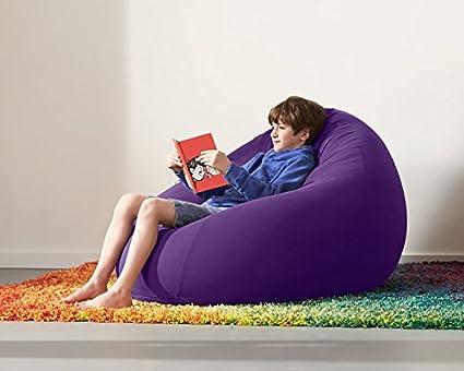 amazon com yogibo pod cover only bright purple home kitchen