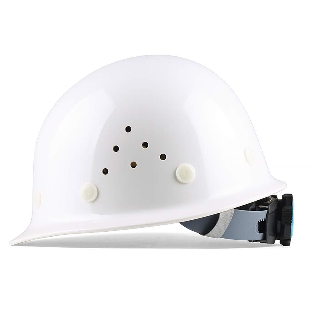 Yloty Conjunto de Casco de Seguridad Transpirable Blanco, Casco de ...