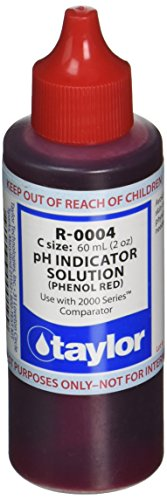 Taylor Technologies R-0004 pH Indicator Reagent, 2 Ounce