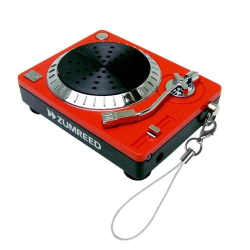 Zumreed / DJ Portable iPod & MP3 Player Speaker, Red