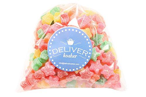 Deliver Kosher Bulk Candy - Sour Stars - 1lb Bag