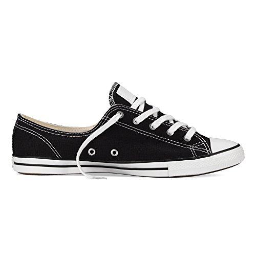 Converse Mujer Chuck Taylor All Star Fancy Ox Black Sneaker (10)