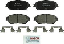 Bosch BC906 QuietCast Premium Ceramic Disc Brake Pad Set For: Lexus ES300, ES330; Toyota Avalon, Camry, Sienna, Solara, Tacoma, Front