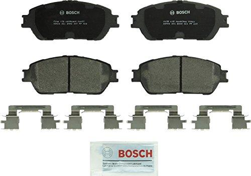Bosch BC906 QuietCast Premium Ceramic Disc Brake Pad Set For: Lexus ES300, ES330; Toyota Avalon, Camry, Sienna, Solara, Tacoma, Front (Best Brake Pads For Toyota Avalon)