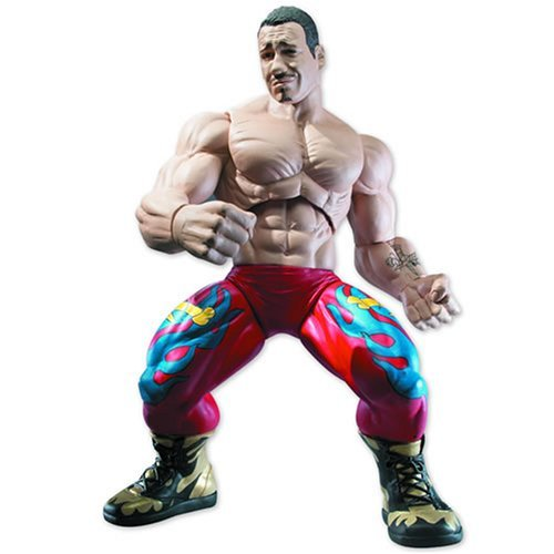 WWE - Ring Giants - Eddie Guerrero - 14 Inch Poseable Action Figure - New - Mint - Collectible - (P) by Jakks Pacific ()