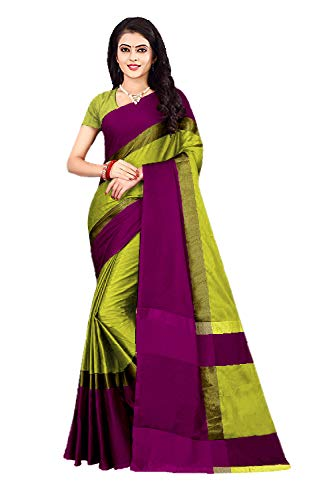 de94aa8b5c Nirmla Fashion Cotton Soft Art Silk Saree With Blouse Piece(Saree for  S1281_Free Size): Amazon.in: Clothing & Accessories
