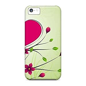 linJUN FENGAwesome Rose Heart Design Flip Case With Fashion Design For iphone 4/4s