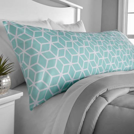 Microfiber Body Pillow Cover Mint product image