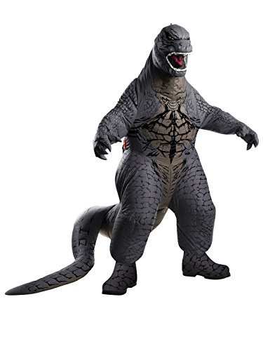 Rubies Godzilla Deluxe Inflatable Child Costume, Child Standard/Medium by Rubie's