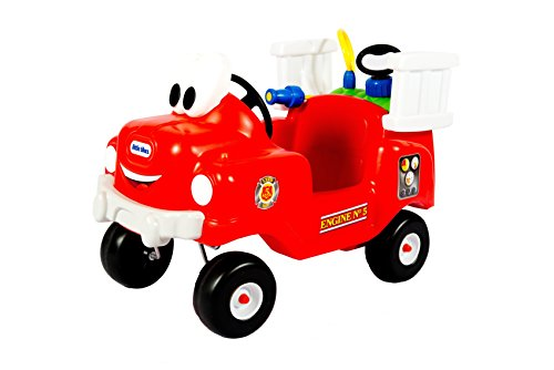 - Little Tikes Spray and Rescue Fire Truck