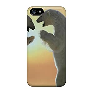 Quality Bertha Roberto Orellana Case Cover With Polar Bears Friendship Nice Appearance Compatible With Iphone 5/5s